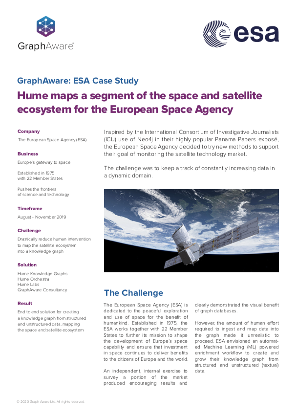 European Space Agency case study