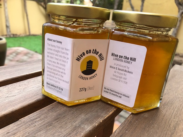 Honey produced by Vince