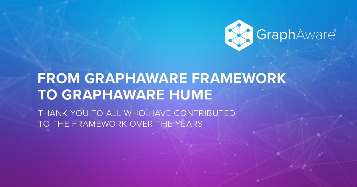 From GraphAware Framework to GraphAware Hume