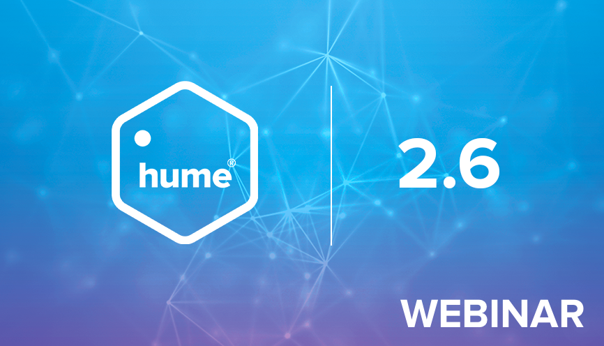 Welcome to the Hume 2.6 live event